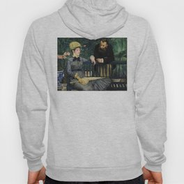Edouard Manet - In the Conservatory Hoody