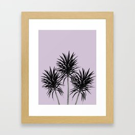 Palm Trees - Cali Summer Vibes #5 #decor #art #society6 Framed Art Print