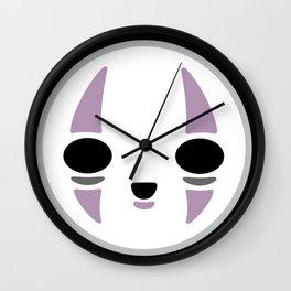 Kawaii No Face Wall Clock