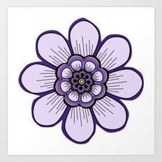 Flower 09 Art Print