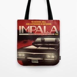 NOW BOARDING: IMPALA Tote Bag