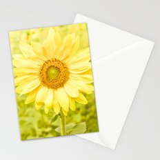 Smiling sunflower Stationery Cards