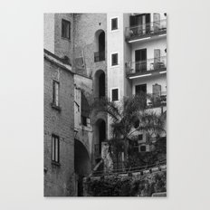 Variety in architecture Canvas Print