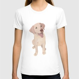 Golden (Lab) Girl T-shirt