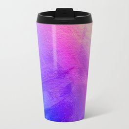 Colorful abstract gradient textured background Travel Mug