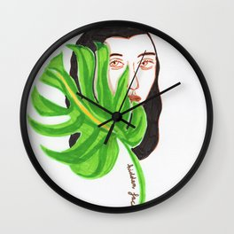 Hidden Face Wall Clock