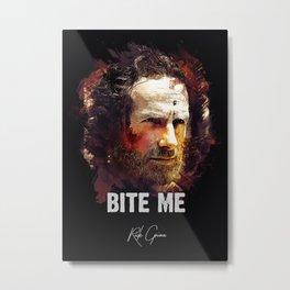 Rick Grimes - THE WALKING DEAD Metal Print