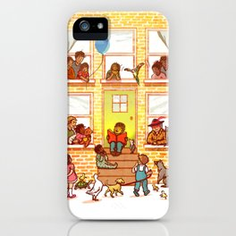 Neighborhood Read Aloud iPhone Case
