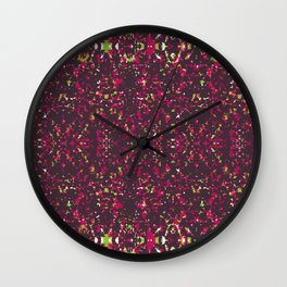 It's All Purple Gravy Baby Wall Clock