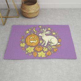Halloween Friends | Spooky Brights Palette Rug