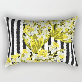 Daffodil - Birth Month Flower for March Rectangular Pillow