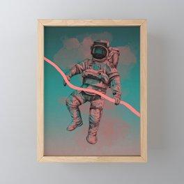 Fallen Astronaut Framed Mini Art Print