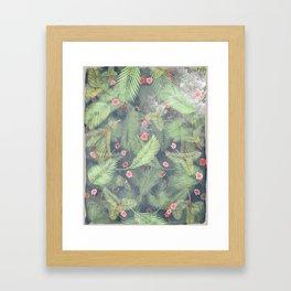 Fresh Summer Forest Framed Art Print