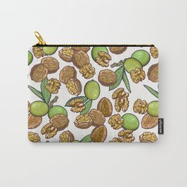 cheeky walnuts pattern Carry-All Pouch