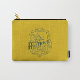 Hufflepuff Inspired Crest Carry-All Pouch