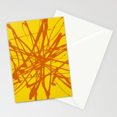 Bloom Yellow Stationery Cards