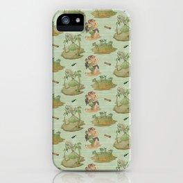 Shipwrecked - Algae iPhone Case
