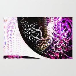 Purple Opposition Rug