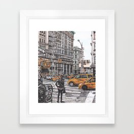 New York I Love You Framed Art Print