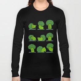 Broccoli Yoga Long Sleeve T-shirt