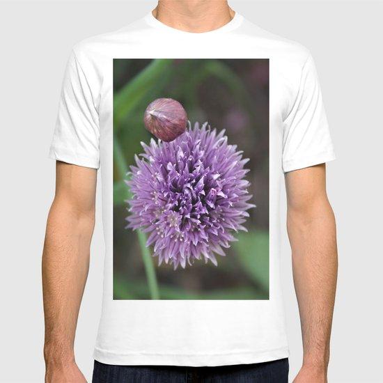 Wild Chive Flower Heads 2 T-shirt