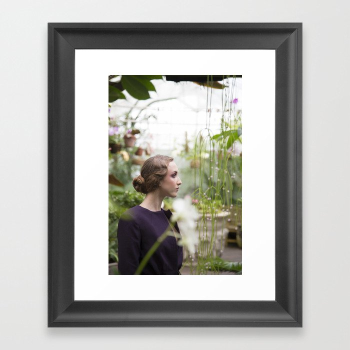 Julia in Great Expectations Framed Art Print