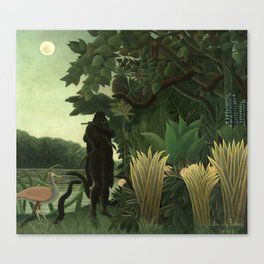 "Henri Rousseau ""The Snake Charmer"", 1907 Canvas Print"