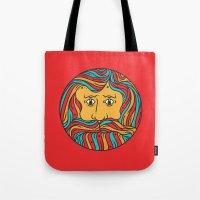 circle Tote Bags featuring Circle by Brad Hansen
