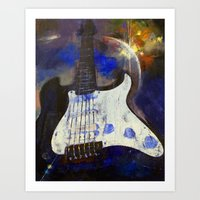heavy metal Art Prints featuring Heavy Metal by Michael Creese