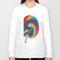candy Long Sleeve T-shirts featuring Candy  by ArtSchool