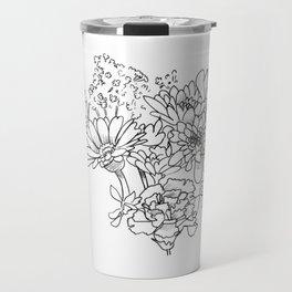 Bouquet (fraction) Travel Mug