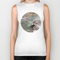allyson johnson Biker Tanks featuring Johnson Canyon rocks by RMK Creative