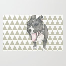 The little dog laughed. Rug