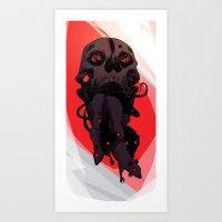 Devouring swarm Art Print