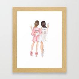 bridesmaids Framed Art Print