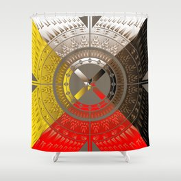The Four Direction Shower Curtain