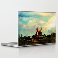 once upon a  time Laptop & iPad Skins featuring Once Upon a Time by Forgotten Beauty