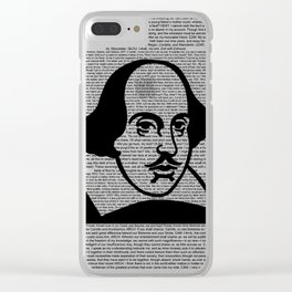 Words of Shakespeare Clear iPhone Case