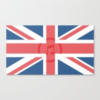 england Canvas Prints featuring  England by XKbeth