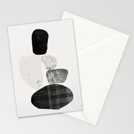 Pile of rocks Stationery Cards