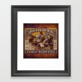 PotionCurios 01 Framed Art Print