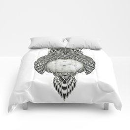 Owl and the Moon Comforters
