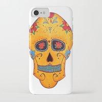 phil jones iPhone & iPod Cases featuring Phil  by Bianca Iarrobino