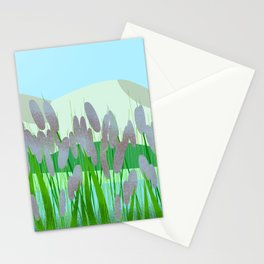 Near to river Stationery Cards