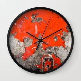 London Underground Paint Wall Clock