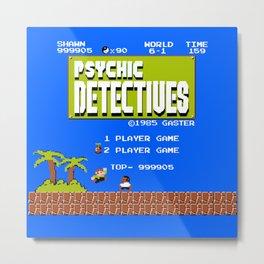 Psychic Detectives! Metal Print