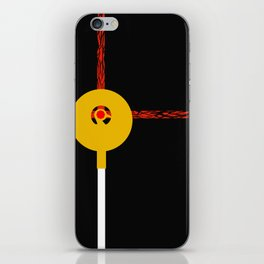 Raiders of the Lost Ark Minimal Movie Poster iPhone Skin