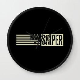 U.S. Military: Sniper Wall Clock