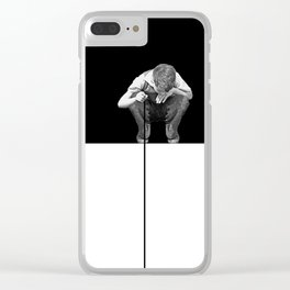 Boy Clear iPhone Case