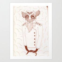 Life In The Brig Art Print